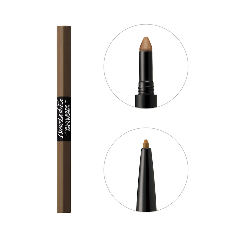 BCL Eyebrow Pencil & Powder Light Brown Browlash Ex