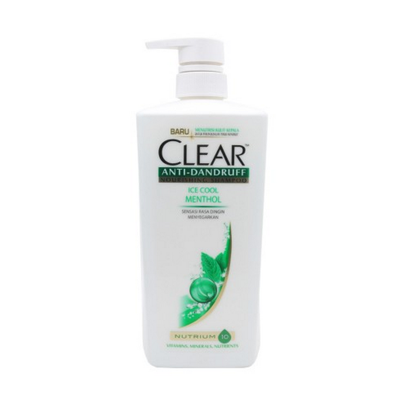 Clear Shampoo Ice Coolm Unisex CHL 480 ml