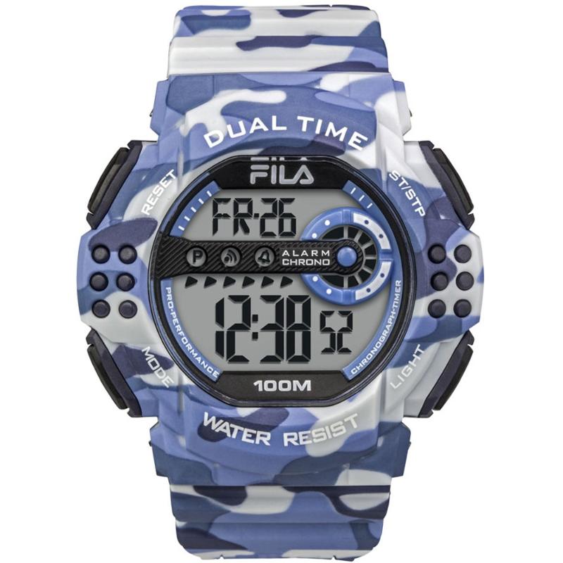Fila Watch 38-171-001 Mens Watch Blue Army