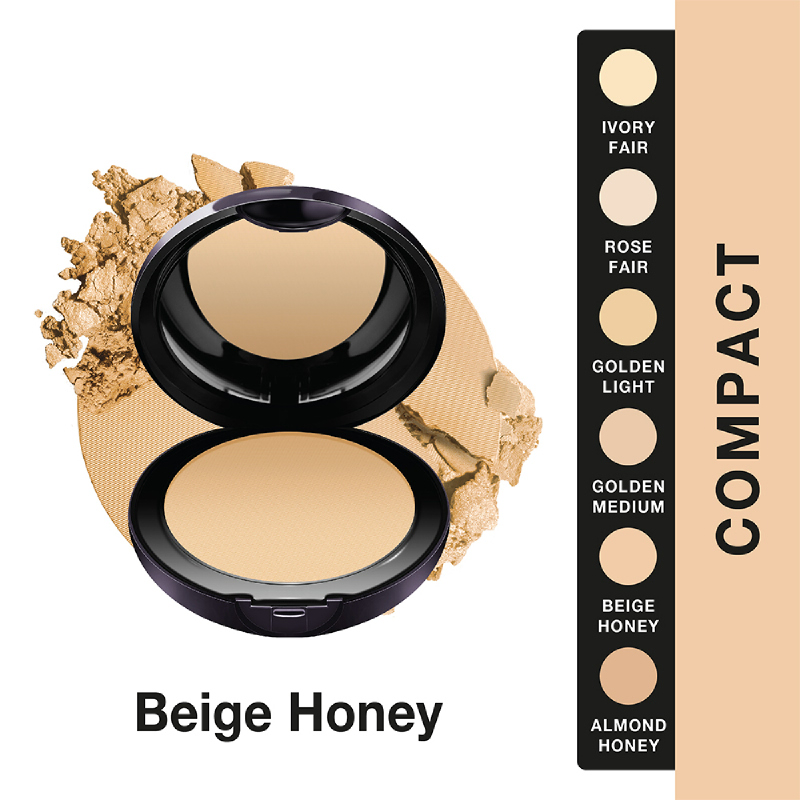 Lakme Abs Reinvent White Intense Wet and Dry Compact Powder - Beige Honey