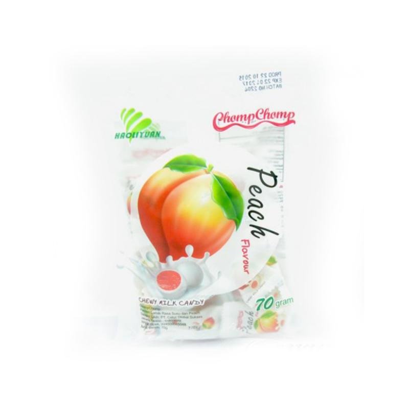 Chomp Chomp Chewy Milk Peach 70G