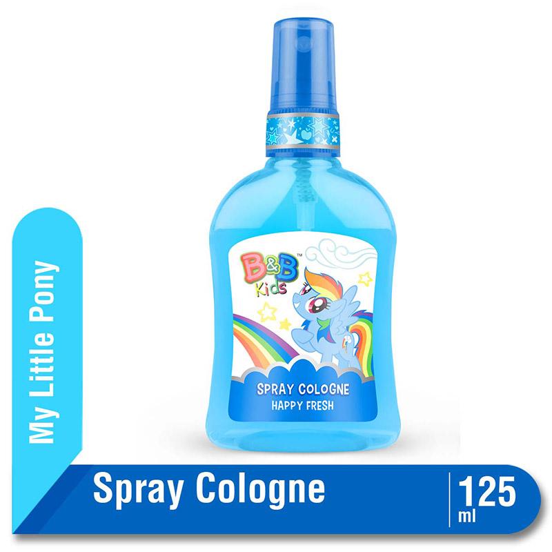 B&B Kids Spray Cologne Little Pony Happy Fresh 125 Ml