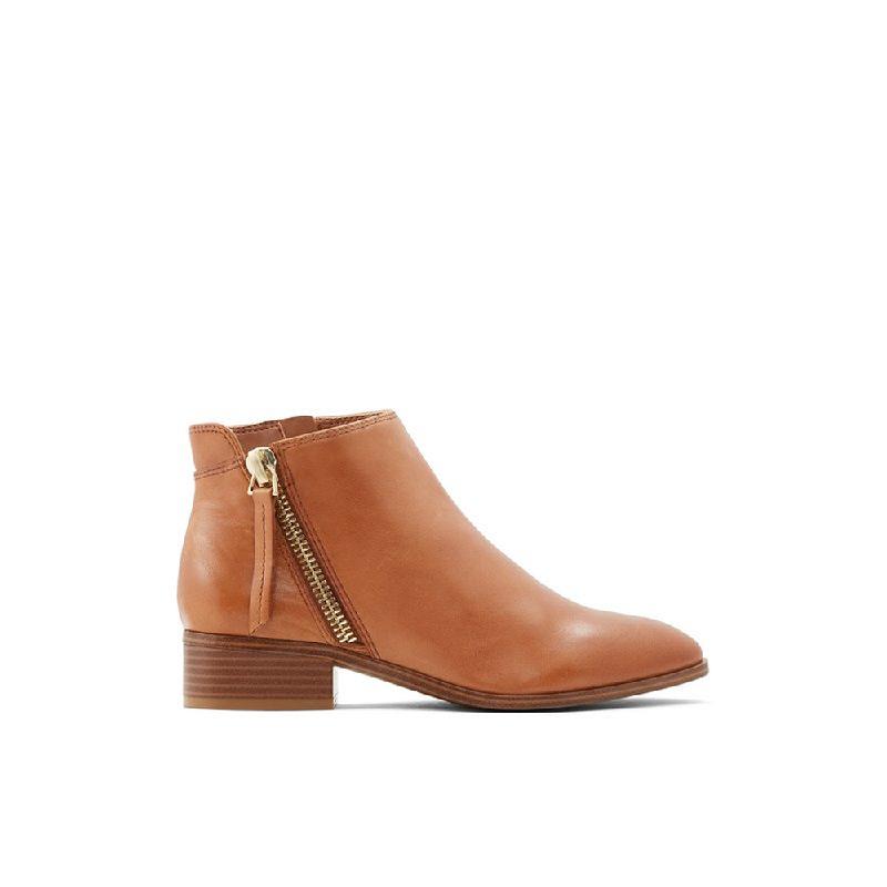 ALDO Ladies Footwear ANKLE BOOTS RERAVIA-200-Brown