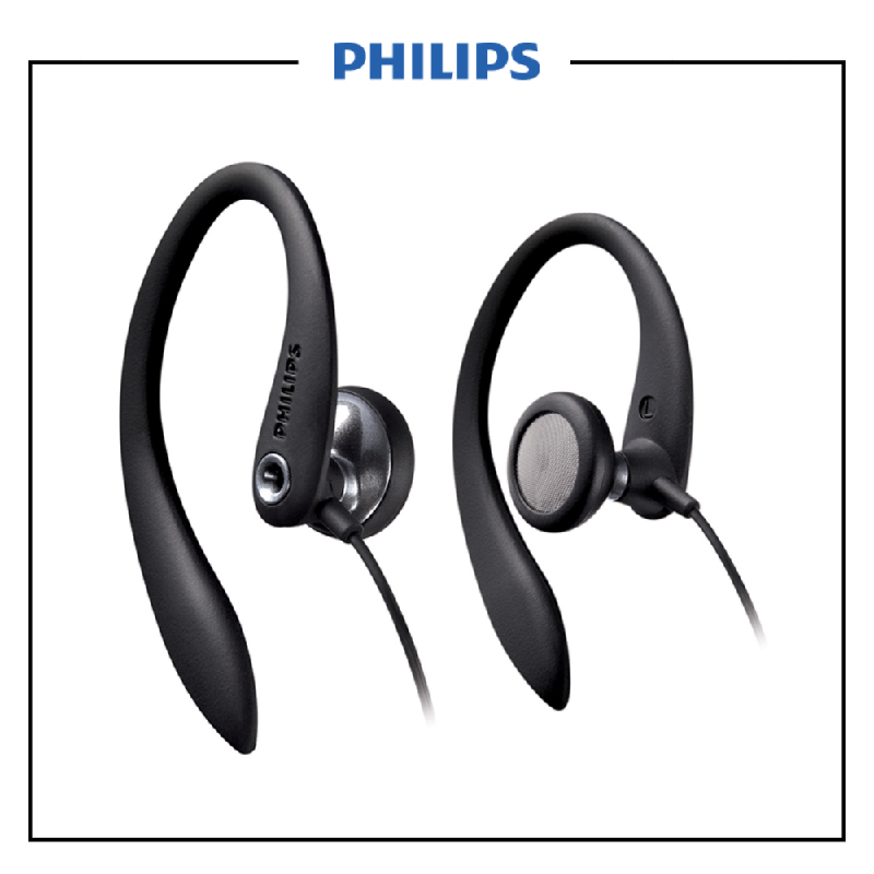PHILIPS EARHOOK SHS3305 Black