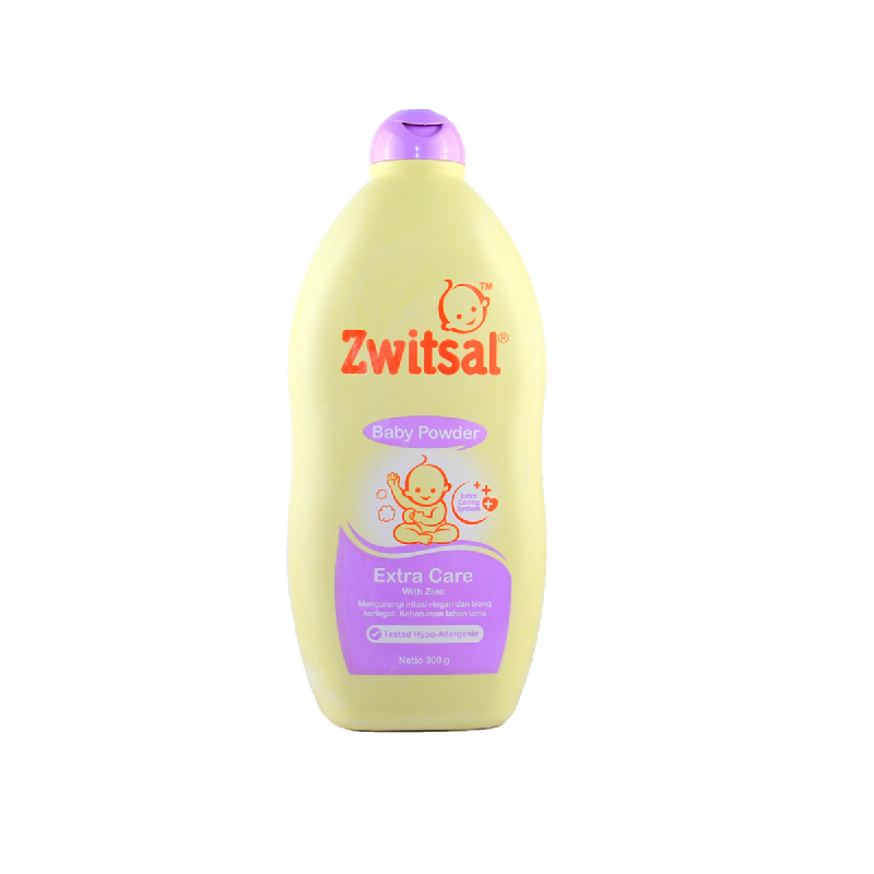 Zwitsal Bedak Bayi Extra Care with Zinc 300 Gr