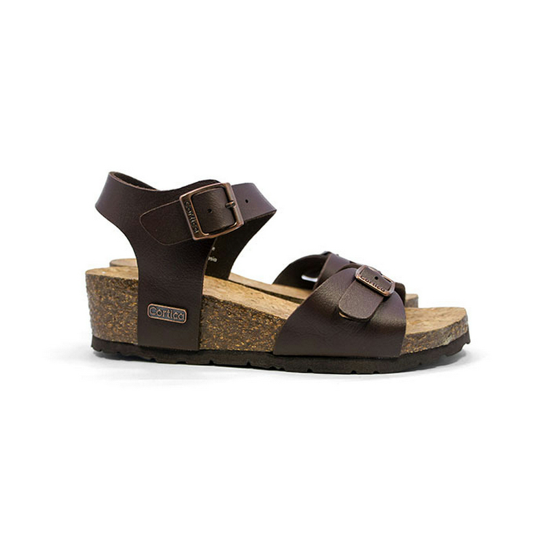 Cortica Umbrella Sandals CW - 4004 Dark Brown