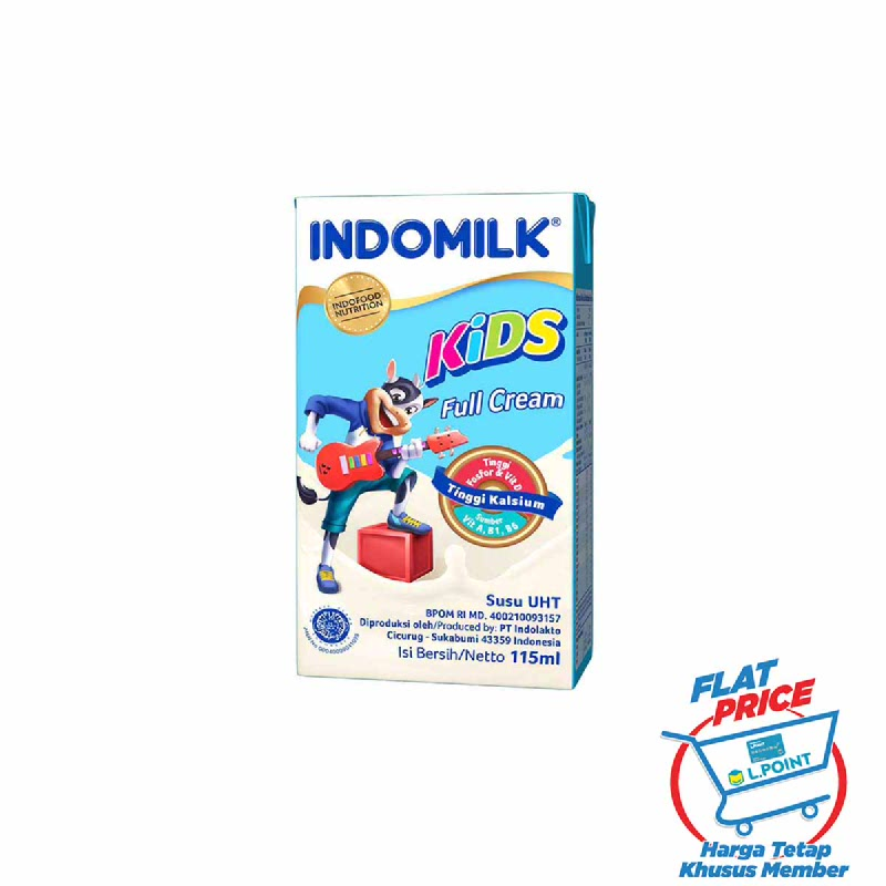 Indomilk Susu Uht Kids Full Cream 115 Ml (Flat Price)