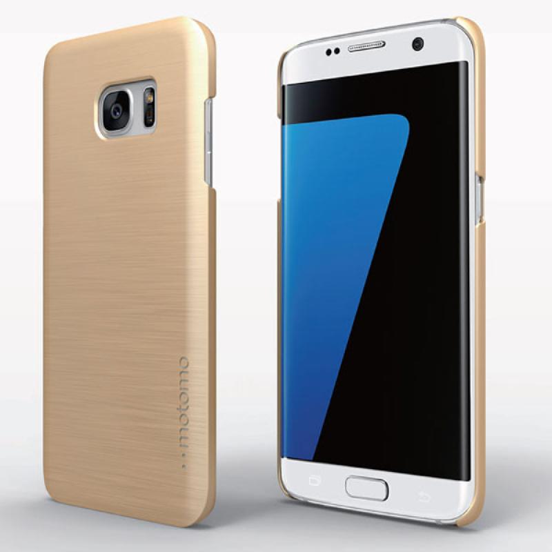 Motomo INO Slim Line Case For Galaxy S7 Edge - Gold