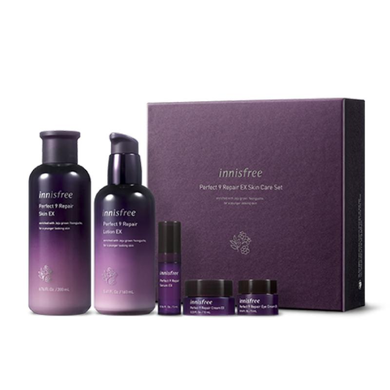 Innisfree Perfect 9 Repair EX Skin Care Set | iLOTTE