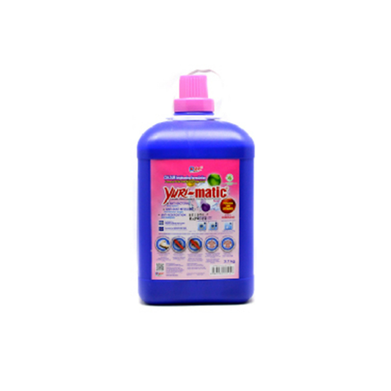Yuri-Matic Tough Stain Detergent Jerigen 3700 Gr