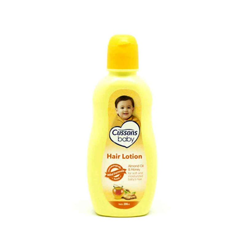 Cussons Baby Lotion Rambut Natural Almond Oil & Honey 200 Ml