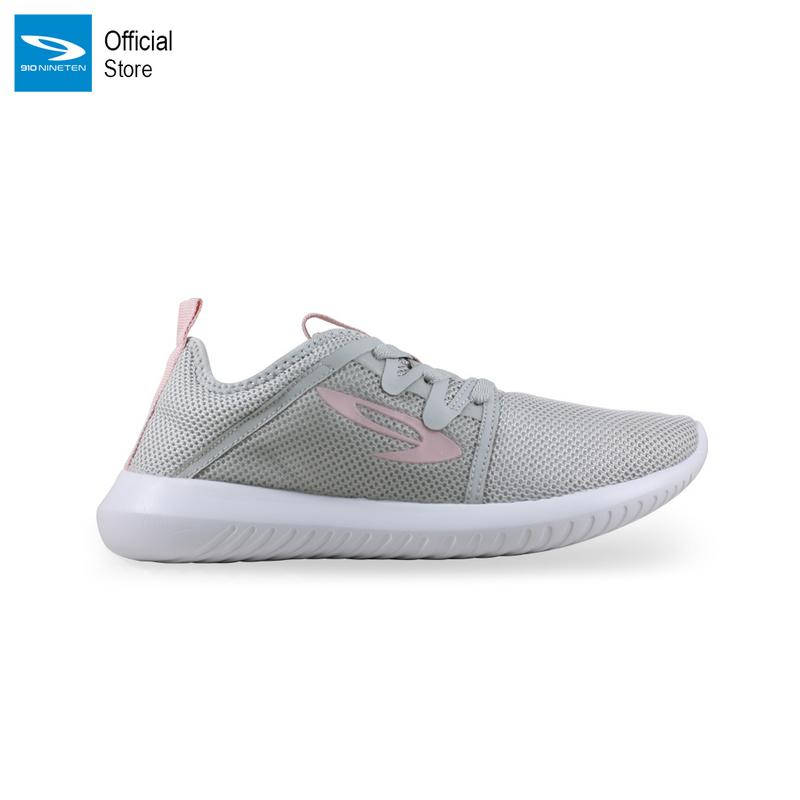 910 Nineten Shinji 1.5 Sepatu Sneakers - Abu Pink