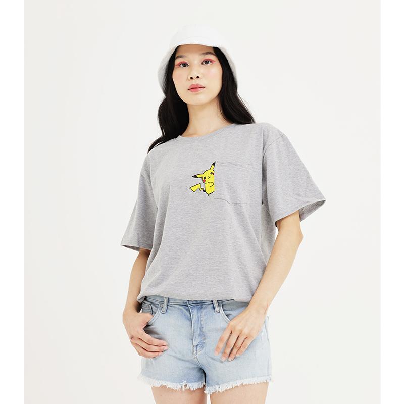 Pokemon Number T Shirt Grey