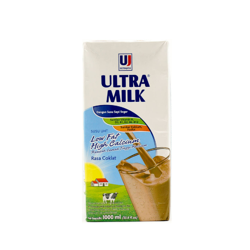 Ultra Milk Low Fat Choco 1000 Ml