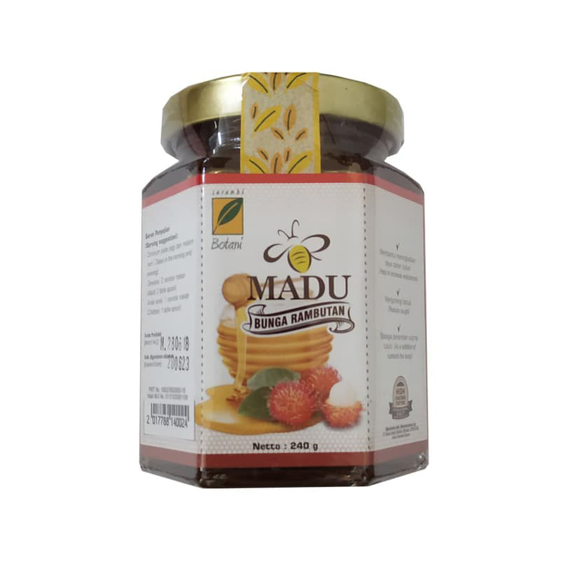 Madu Rambutan 240 gr