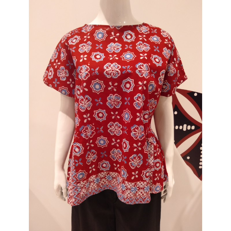 Astari Batik Blouse Red
