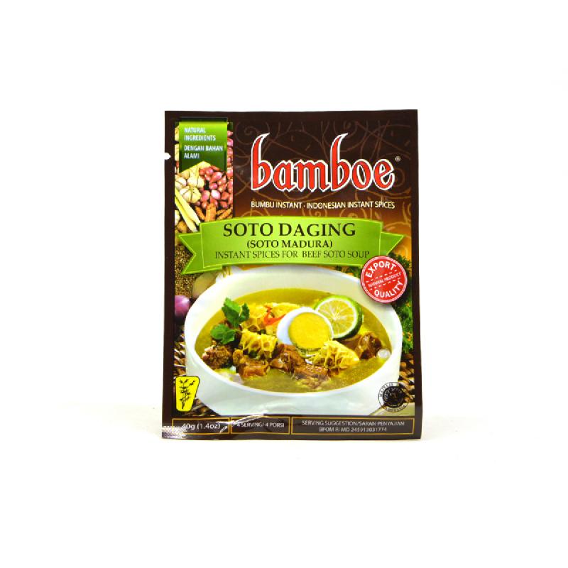Bamboe Bumbu Soto Madura 40 Gram