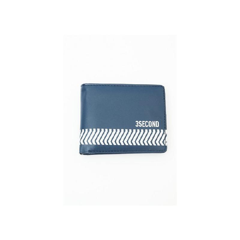 3Second Men Wallet 1204 Blue