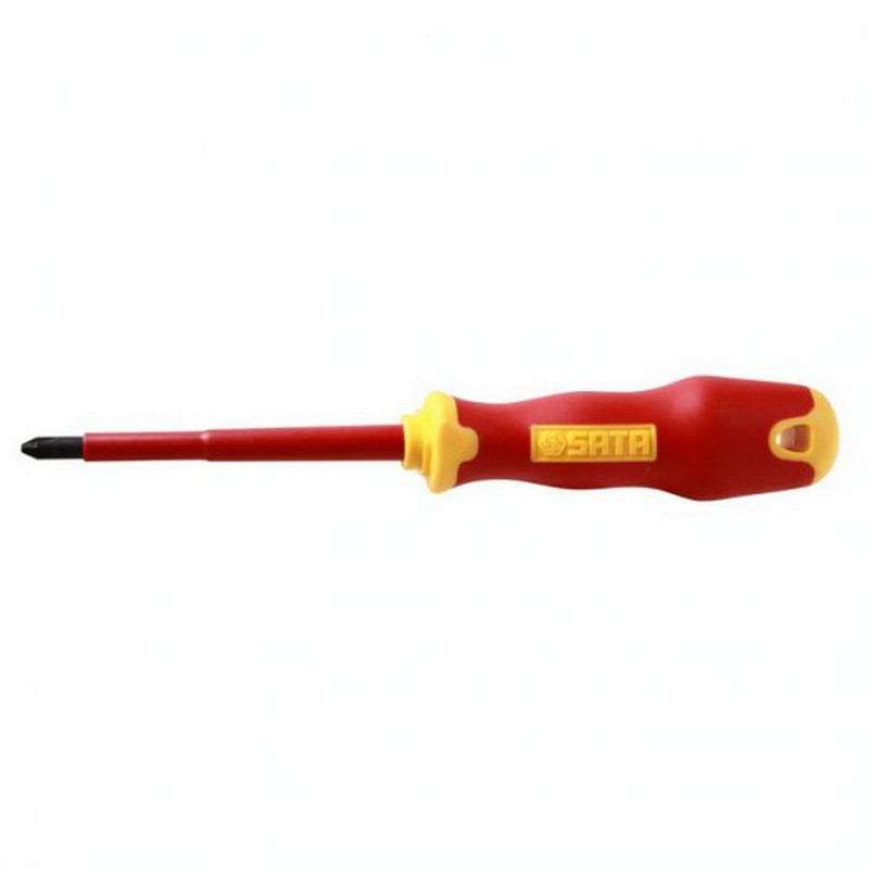 SATA VDE INSULATED SCREWDRIVER PHILLIPS 2X100MM