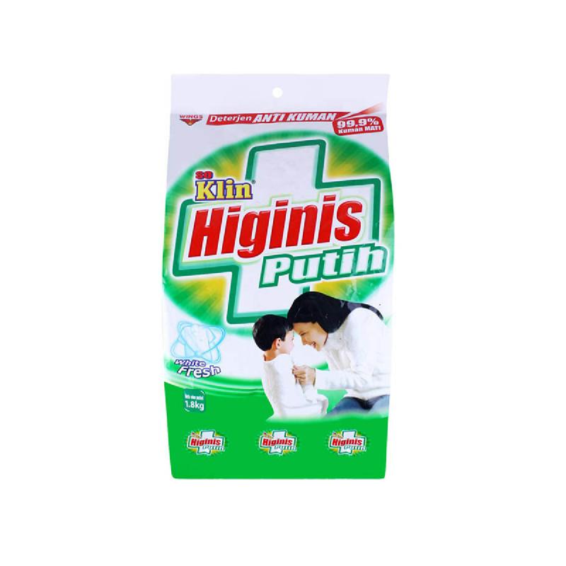 So Klin Detergent Higinis Bag 1.8 Kg