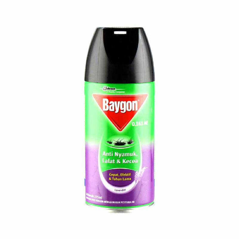 Baygon Aerosol Lavender  275Ml