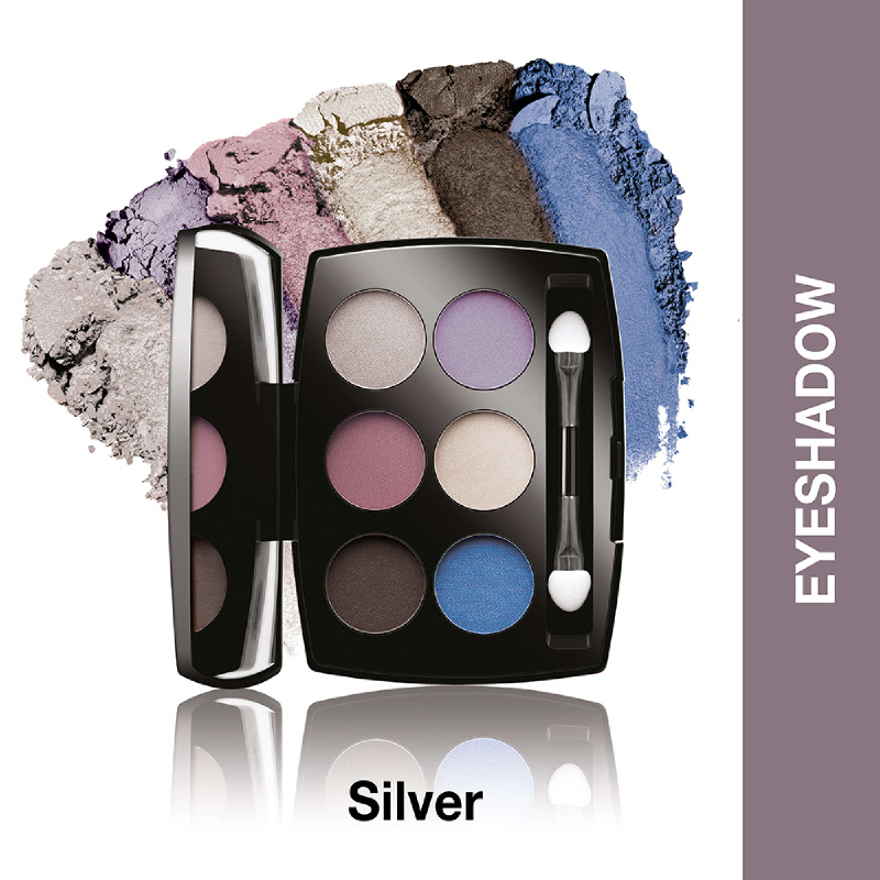 Lakme Absolute Reinvent  Illuminating Eye Shadow Palette Silver