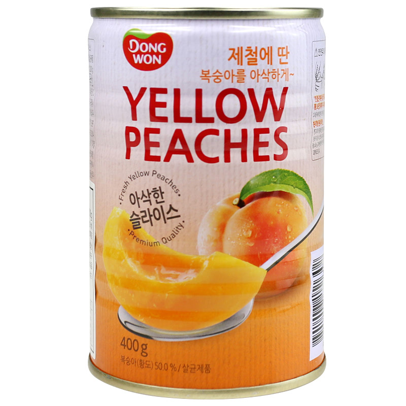Dongwon Yellow Peaches 400 Gr