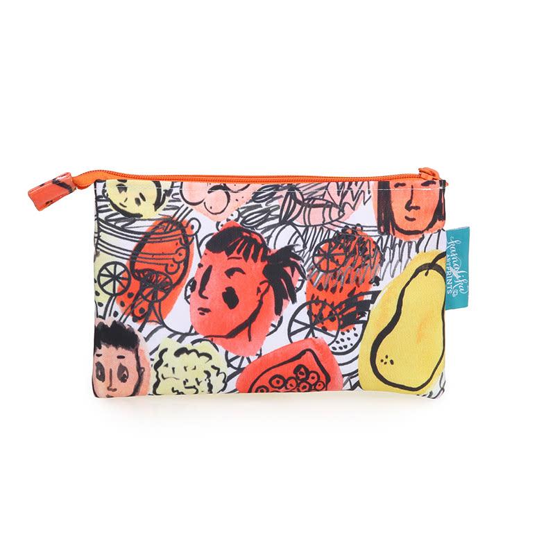 Kamalika Art Prints Pencil Case Kelapa Merah