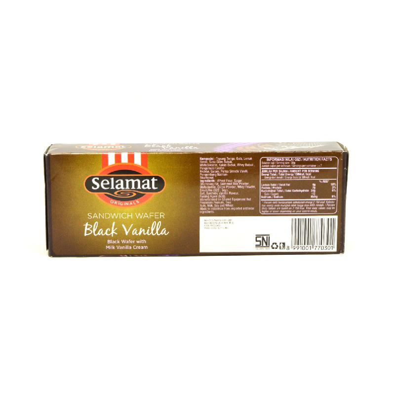 Selamat Wafer Black Vanilla 198G