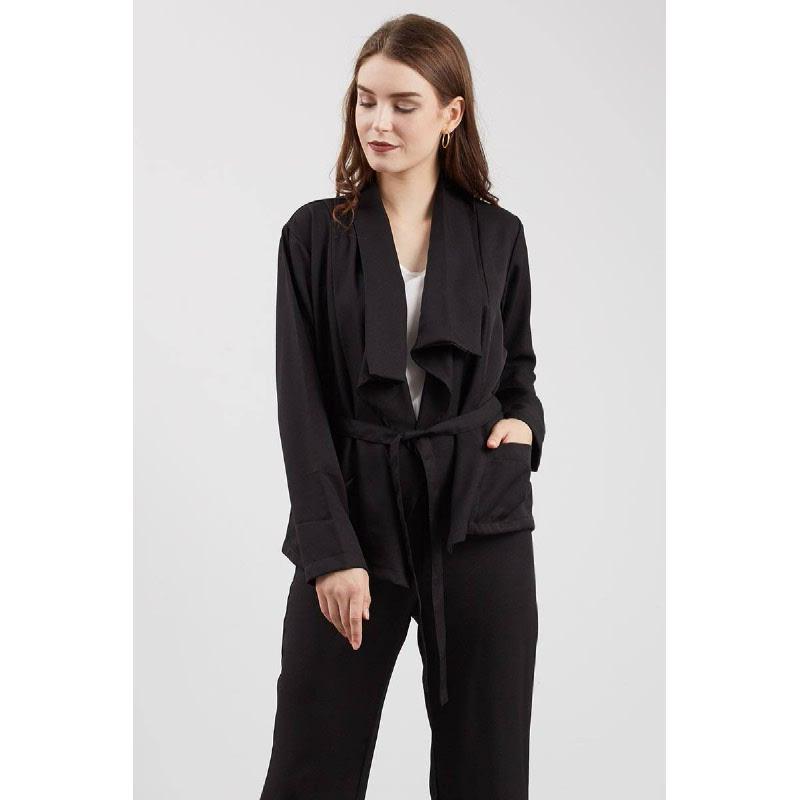 Vanity Coat Black