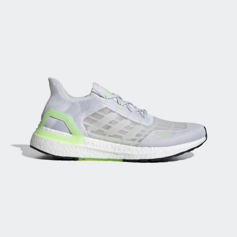 Adidas Ultraboost Summer R.D.Y Soft GreySignal Green EG0753