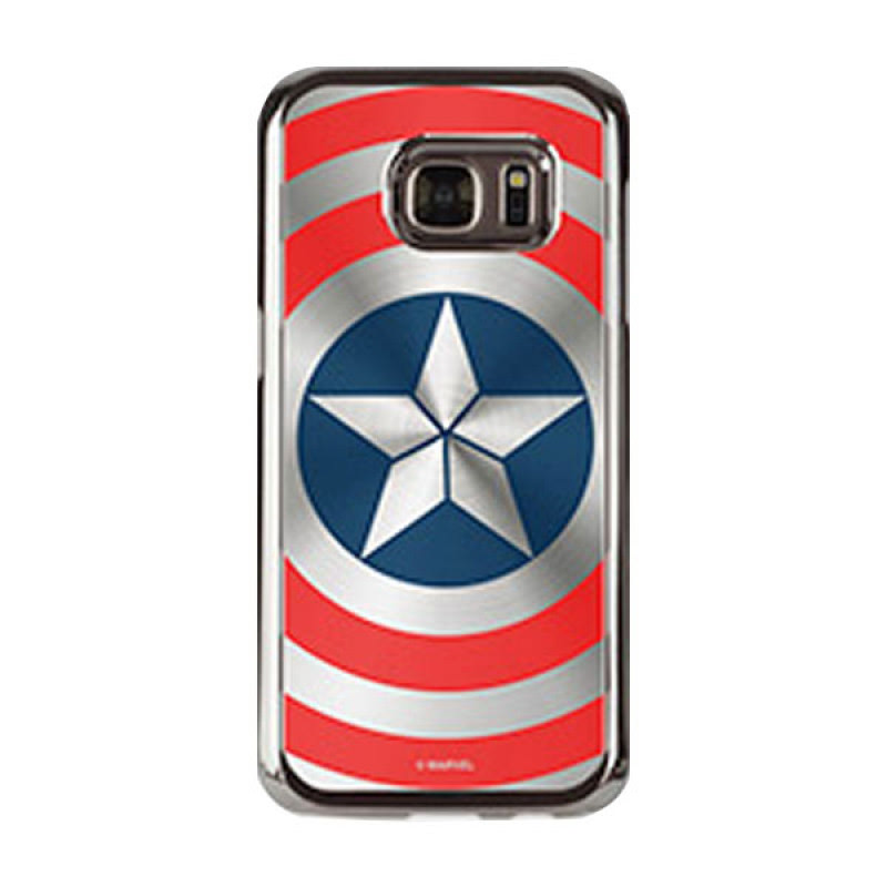 Skinplayer MARVEL Captain America Shield Case for Galaxy S7