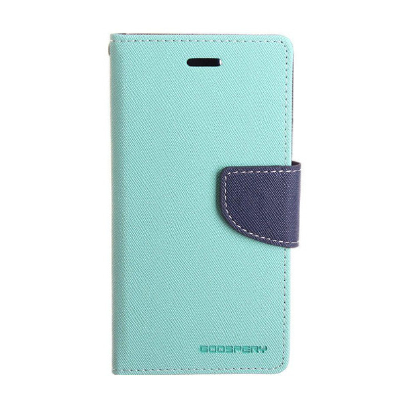 Goospery Fancy Diary I Phone 7 Plus - Mint Biru
