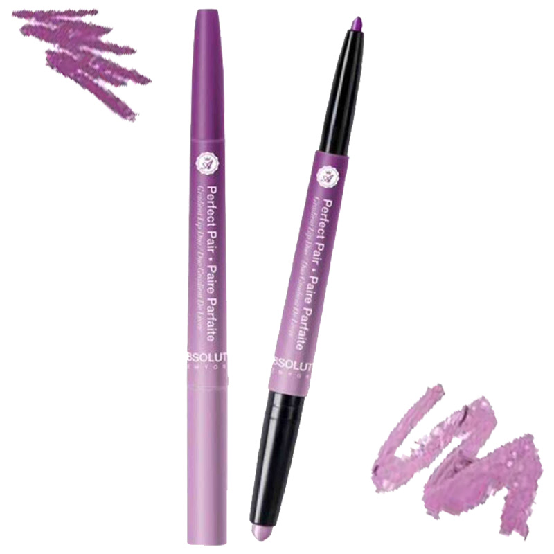 Absolute New York Perfect Pair Duo Parfait Lip Duo Lush Lilac