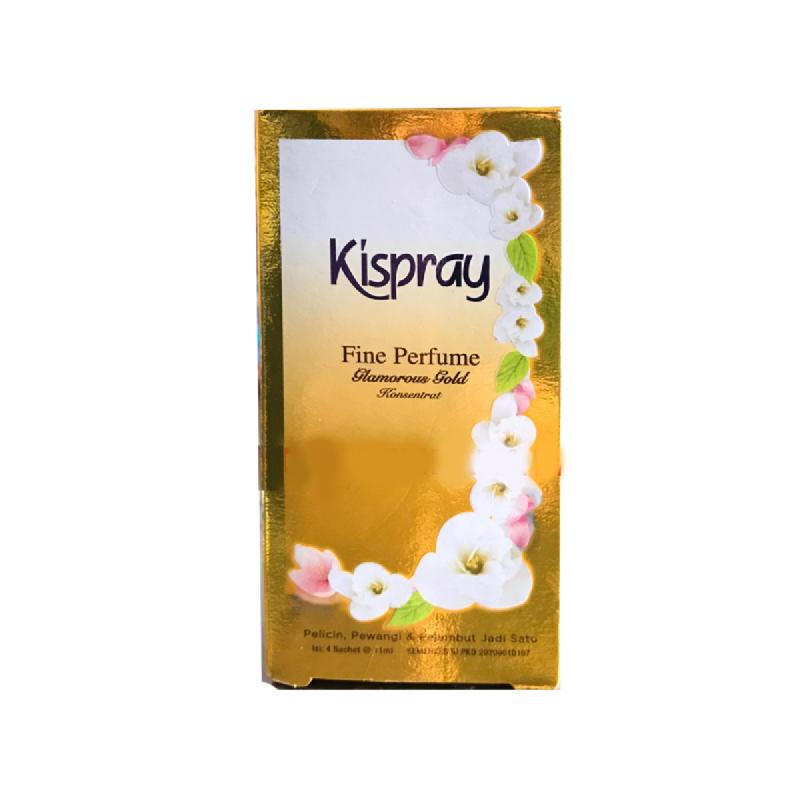 Kispray Gold 6 Pcs Box