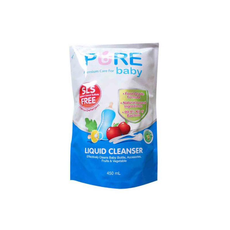 Pure Baby Bath Liquid Cleanser Refill 450 Ml
