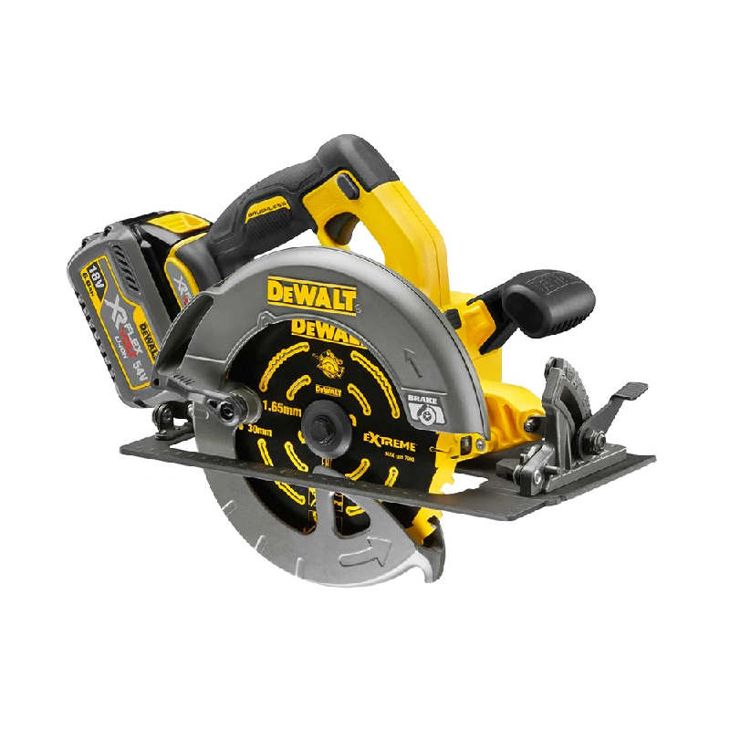 DeWALT PT 54V Cordless Circular Saw (2x6A Battery) Flexvolt