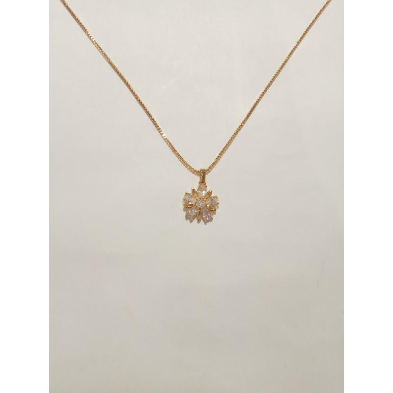 Ballin - Women Necklace FF N0114G Gold
