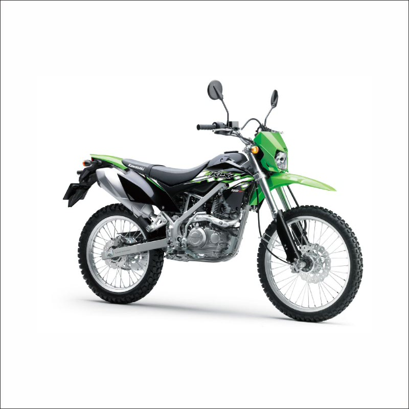 Kawasaki New Klx 150 Bf Sepeda Motor - Hijau (detabekser) (VIN 2018)