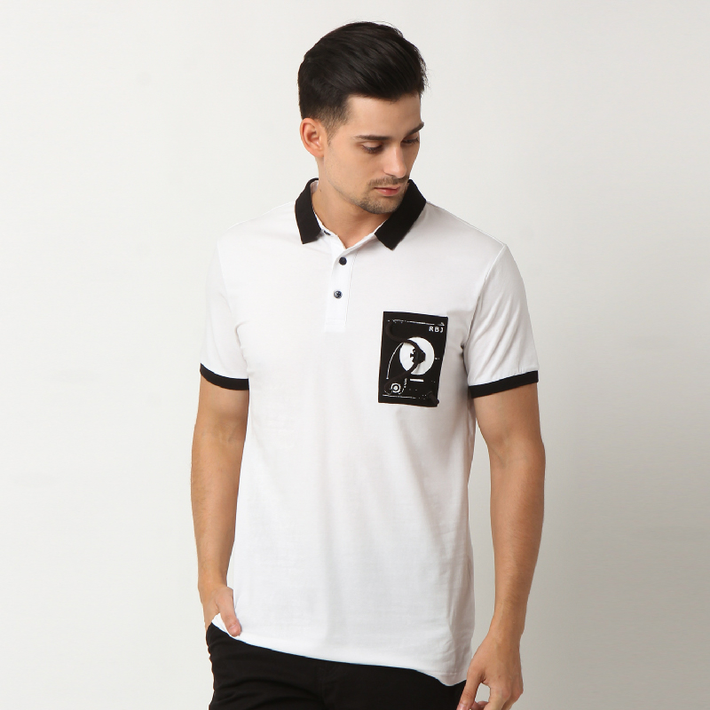RBJ Polo Shirt 25675024 Putih