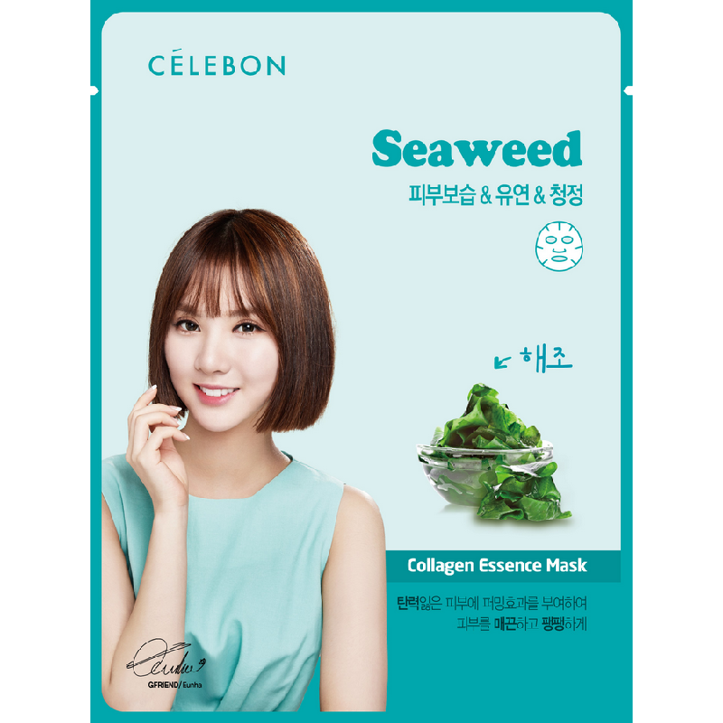 Celebon Seaweed Collagen Essence Mask