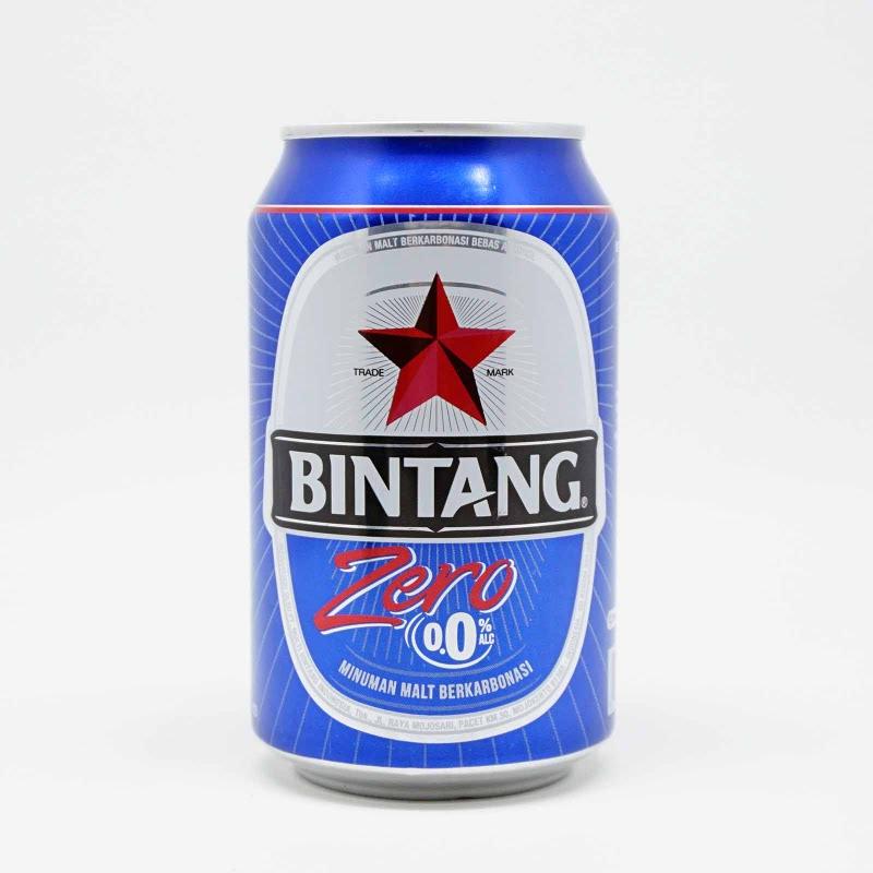 Bintang Zero Bir 0,0% Alkohol 330 Ml