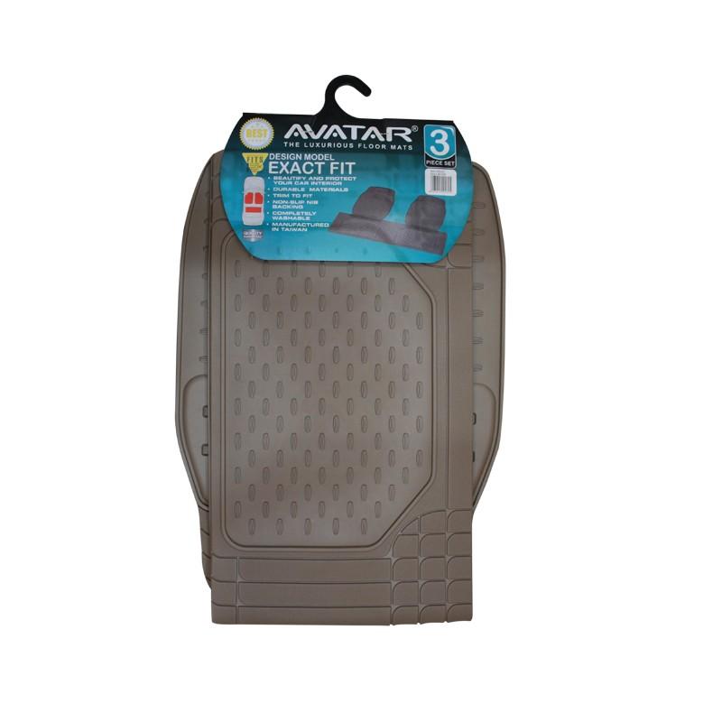 Avatar Karpet Mobil 9333 3 Buah Beige