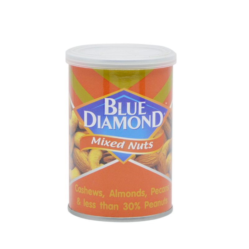 Blue Diamond Roasted Mixed Nuts 130per150G