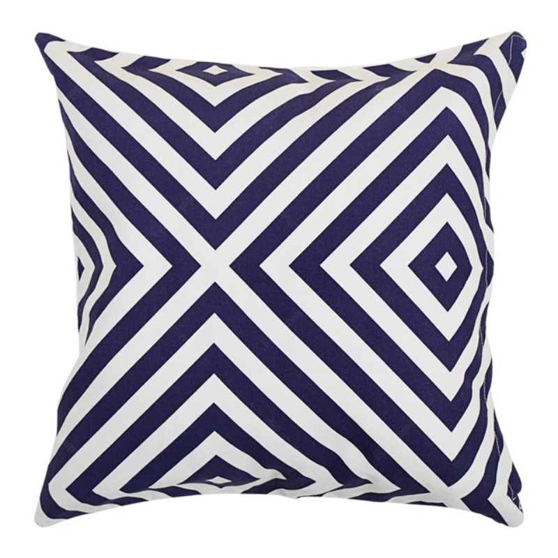 Beam and Co Cushion Cover 45x45cm Case Plaza Blue