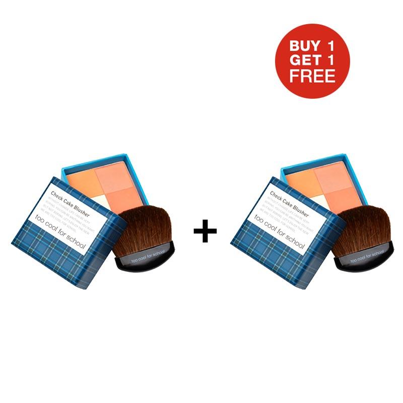 TCFS Buy 1 Get 1 Check Cake Blusher 2 Orange