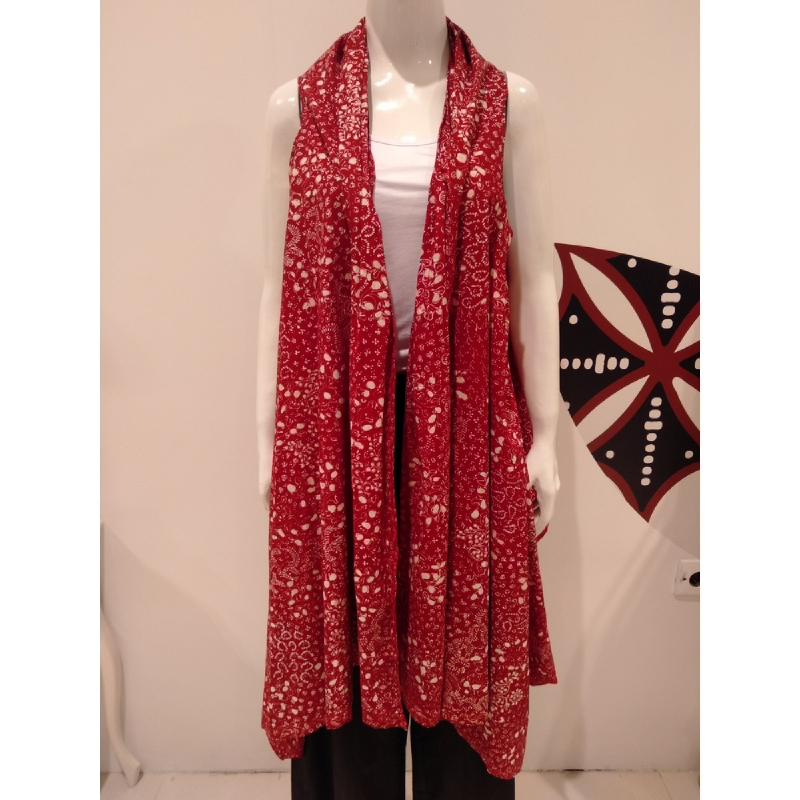 Astari Batik Outer Red