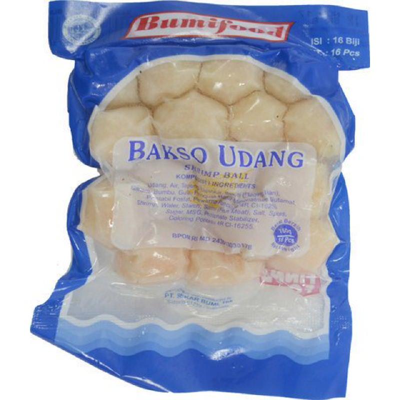 Bumifood Bakso Udang isi 25 pcs