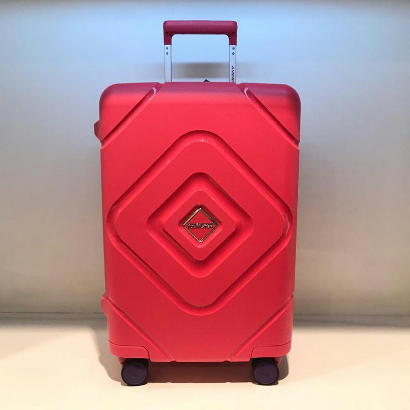 American Tourister GP8-50002 Trigard Spinner 66-24 TSA Raspberry Pink