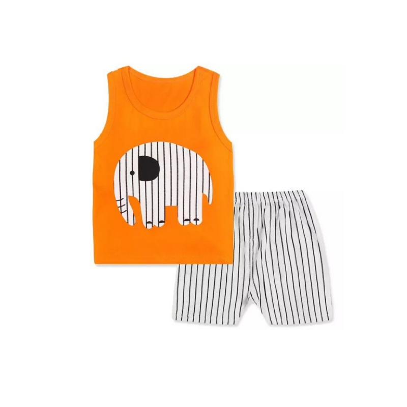BabyLand Orange Elephant Set OES001